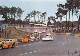 """72-----LE MANS---circuit Des 24 Heures--les """" S """" Du Tertre Rouge--( Voitures De Course )--voir 2 Scans - Le Mans"""