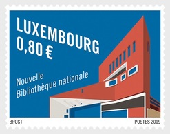 H01 Luxembourg 2019 The New Site Of The National Library MNH Postfrisch - Luxemburg