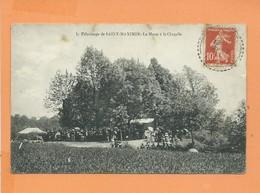 CPA Abîmée  - Pelerinage De Saint Maximin  - La Messe à La Chapelle - Autres Communes