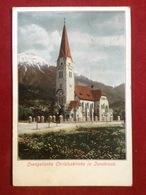 AK Österreich Innsbruck Evangelische Christuskirche 1903 - Kleinwalsertal