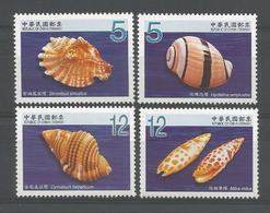 Taiwan 2009 Shells Y.T. 3195/3198 ** - 1945-... République De Chine