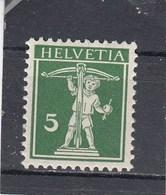 Suisse - N° YT 136** - Année 1910 - Corde Derrière Le Fût - Svizzera