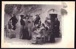 AROUND 1900 - GRANADA - DANZA DE GITANOS POR SU CAPITAN JUAN AMAYA - Sent To Belgium - Granada