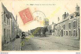 41.  MER .  Route De Paris Et Le Petit Mail . - Mer