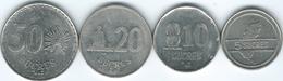 Ecuador - 1988 - 5, 10, 20 & 50 Sucres (KM91.1-KM94.1) - Ecuador