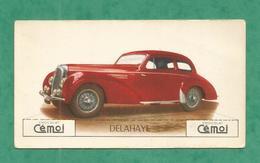 IMAGE CHOCOLAT CEMOI AUTO VOITURE VINTAGE WAGEN OLD CAR CARD DELAHAYE - Chocolat