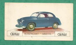 IMAGE CHOCOLAT CEMOI AUTO VOITURE VINTAGE WAGEN OLD CAR CARD ROSENGART ARIETTE - Chocolat
