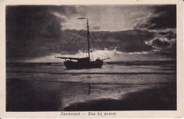 1947244Zandvoort, Zee Bij Avond 1926 (kleine Vouw Rechtsonder) - Zandvoort