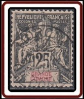 Grande Comore - N° 08 (YT) N° 8 (AM) - Faux Fournier Timbre Et Oblitération De Moroni Gde Comore. - Grande Comore (1897-1912)