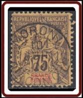 Grande Comore - N° 12 (YT) N° 12 (AM) - Faux Fournier Timbre Et Oblitération De Moroni Gde Comore. - Grande Comore (1897-1912)
