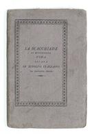 Poesia - Vida - La Scacchiade Ovvero Il Giuoco Degli Scacchi - 1^ Ed. 1829 - Livres, BD, Revues