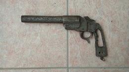 Pistolet Lance Fusée Allemand HEBEL 1914-1918 WW1 De Fouille Provenant Des Vosges - Armes Neutralisées