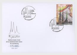 "H01 Luxembourg 2019 The 175th Anniversary Of The ""Maîtrise De La Cathédrale Notre-Dame""  FDC - Luxemburg"