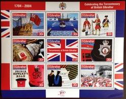 Gibraltar 2004 Tercentenary Sheetlet MNH - Gibraltar