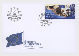 H01 Luxembourg 2019  European Elections FDC - Luxemburg