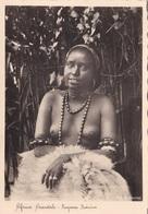 AFRICA ORIENTALE RAGAZZA BEDUINA   AUTENTICA 100% - Postcards