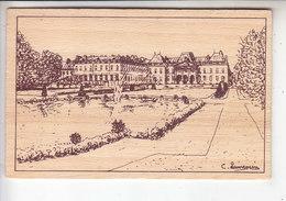 SP- 54 - LUNEVILLE - Le Chateau - Les Jardins - Pyrogravure Sur Bois - - Luneville