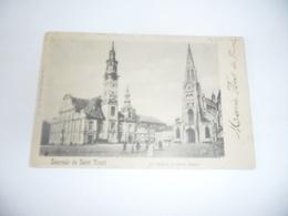 Sint-truiden:souvenir De Saint-trond Le Beffroi Et Notre Dame - Sint-Truiden