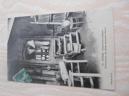 CPA ANIMEE - SUBLES - POTERIE D ART DE BAYEUX - Craft