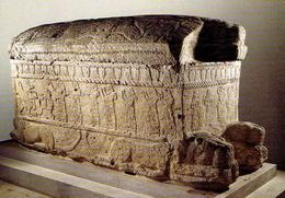 BEYROUTH : Sarcophage D'Ahirom , Roi De Byblos - Liban