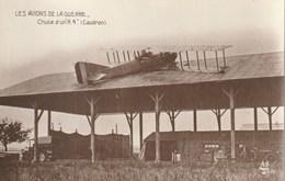 Les Avions De La Guerre - Chute D'un R4 (Caudron) - 1914-1918: 1ère Guerre