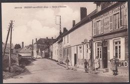CPA - 60, CROISSY Sur CELLE La Route D' Amiens - Francia