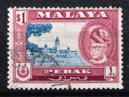 PERAK 1957 - From Set Used - Perak