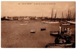 56 ILE DE GROIX - Le Port De Locmaria Au Sud De L'ile - Cpa Morbihan - Groix