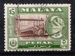 PERAK 1957 - From Set Used (perf. 12.5 X 12.5) - Perak
