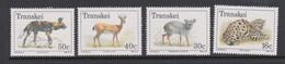 South Africa-Transkei SG 225-228 1988 Endangered Animals, Mint Never Hinged - Transkei