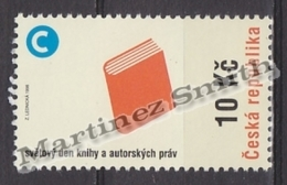 Czech Republic - Tcheque 1998 Yvert 172 World Day Of The Book & Authors RIghts  MNH - Nuevos