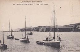 (22) PONTRIEUX - ST - QUAY . Le Port Heleu (3 Petits Voiliers Dont  BI G7 ) - Pontrieux