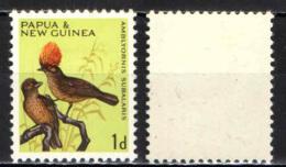 PAPUA NUOVA GUINEA - 1964 - UCCELLI -BIRDS - MH - Papua Nuova Guinea