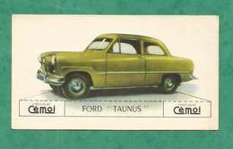 IMAGE CHOCOLAT CEMOI AUTO VOITURE VINTAGE WAGEN OLD CAR CARD  FORD TAUNUS - Chocolat