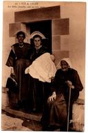 56 ILE DE GROIX - Les Belles Familles Sont Ici Tres Unies - Cpa Morbihan - Groix