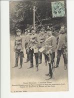 Armée Allemande Hussards Avec Des Pigeons Voyageus En Temps Des Manoeuvres Au Donon - Régiments