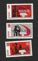 DDR 1967 Michel Nr. 1312A **, 1314A **, 1315A **, Alle Postfrisch, Oktoberrevolution - Ungebraucht