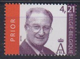 Belgie 2003 Koning Albert 1w ** Mnh Plakwaarde 4.21 Euro (42693) - België