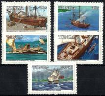 Tonga Nº 597/601 En Nuevo - Tonga (1970-...)