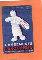 BUVARD. VILLEFRANCHE (RHONE). PANSEMENT LAROCHETTE  Achat Immédiat - Chemist's