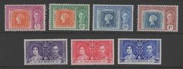 Mauritius GV1 1937 & 1947 Stamp Sets.. - Mauritius (...-1967)