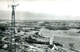 N°72807 -cpsm îles Chausey -vue Générale Depuis Le Phare- - Other Municipalities