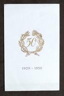 Collezionismo - Menu Ristorante Boeucc Da Flavio - Milano - 50° - 1909 - 1959 - Menu