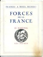 """WW2 Propagande Vichy """"France A Nous Jeunes Forces De La France"""" Le Maréchal Pétain Les Jeunes - Histoire"""