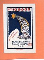 BUVARD. SALLAUMINES (P-de-C). AUX 100000 ASSIETTES  Achat Immédiat - Buvards, Protège-cahiers Illustrés