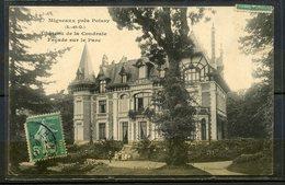 N°1 - MIGNEAUX PRES DE POISSY - CHATEAU DE LA COUDRAIE - FACADE SUR LE PARC (ANIMEE) - VISUEL PAS COURANT. - Poissy