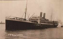 RP: Ocean Liner , R.M.T. PRINZ LUDWIG , 00-10s - Steamers