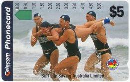 AUSTRALIA B-494 Optical Telecom - Organisation, Surf Live Saving - Used - Australien