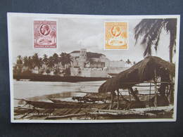 AK Gold Coast Elmina Castle 1932 // D*38093 - Ghana - Gold Coast