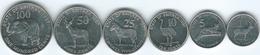 Eritrea - 1997 - 1, 5, 10, 20, 50 & 100 Cents (KMs 43-48) - Eritrea